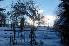 Belmonty Landgarten im Winter