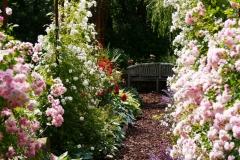 Belmonty Landgarten im Sommer
